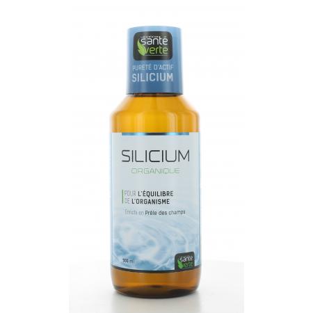 Silicium Organique Prêle des Champs Santé Verte 500 ml