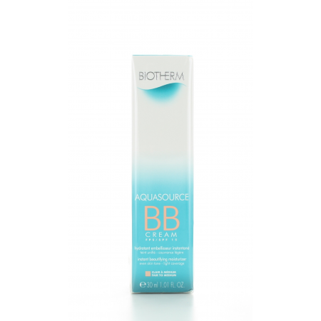 BB Cream Clair à Médium Aquasource Biotherm 30 ml