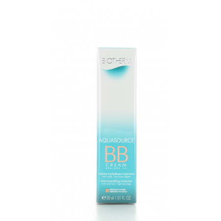 BB Cream Médium à Doré Aquasource Biotherm 30 ml