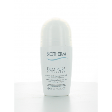 Déo Pure Invisible 48H Roll-On Biotherm 75 ml