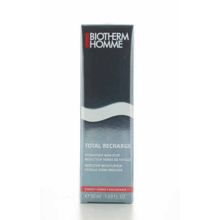 Soin Hydratant Non-Stop Total Recharge Biotherm Homme 50 ml