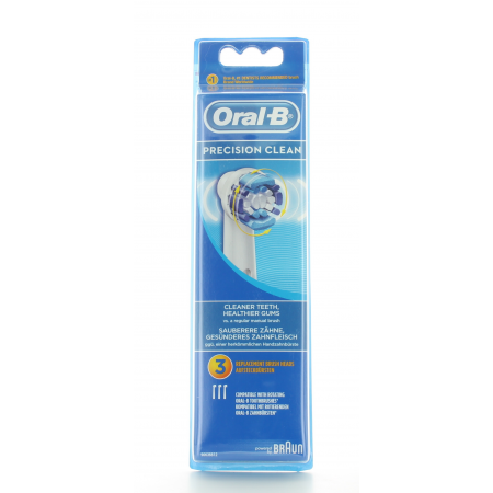 Brossettes Oral-B Precision Clean X3
