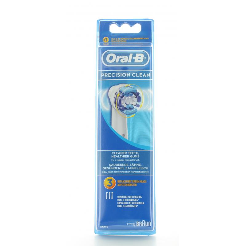 Brossettes Oral-B Precision Clean X3