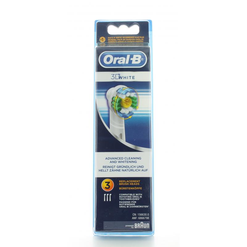 Oral-B Brossettes 3D White X3