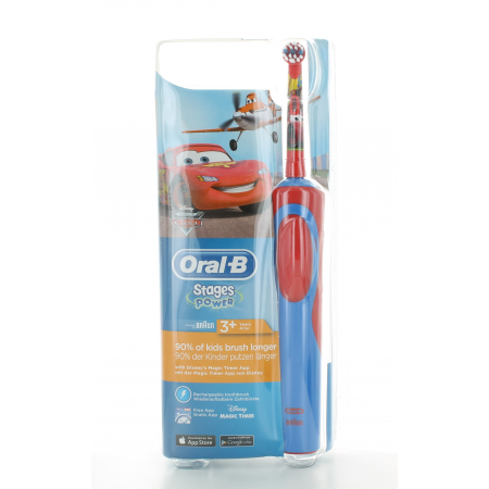 Oral-B Brosse à dents électrique Stages Power Cars