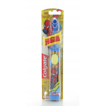 Brosse à dents à piles Colgate Spiderman