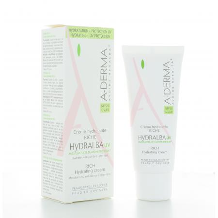ADerma Crème Hydratante Riche Hydralba UV 40 ml