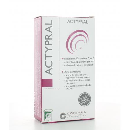 Actypral Codifra 60 gélules