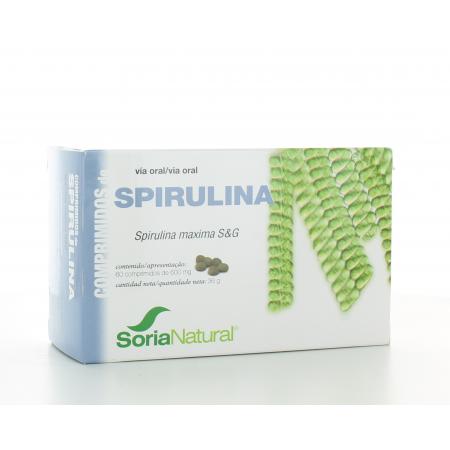 Spiruline Soria Natural 60 comprimés