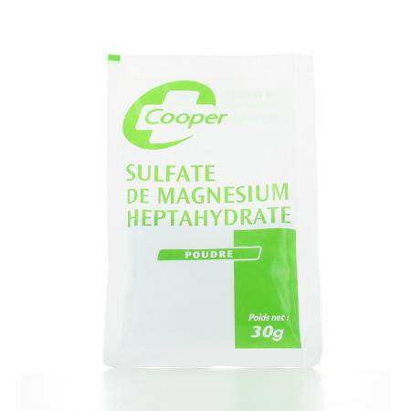 Sulfate de Magnésium Heptahydraté Cooper 30g