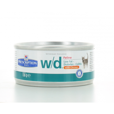 Hill's Prescription Diet Feline w/d 156 g
