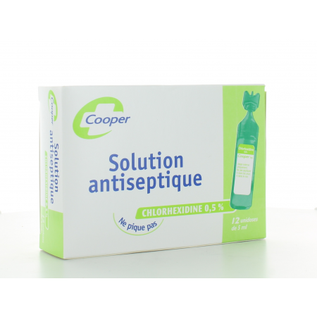 Solution Antiseptique Cooper 12 X 5ml