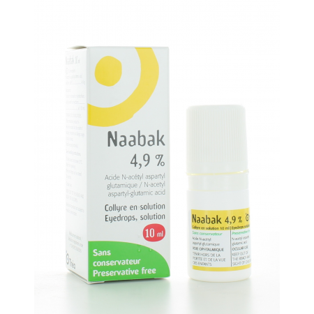 Naabak 4,9% Collyre 10 ml
