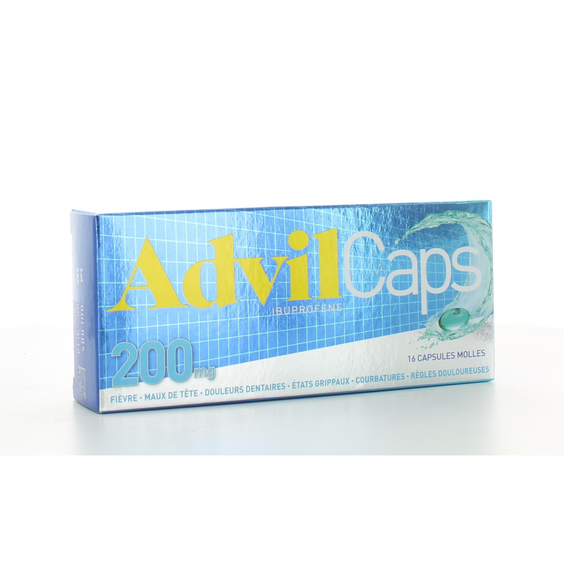 AdvilCaps 200 mg 16 capsules