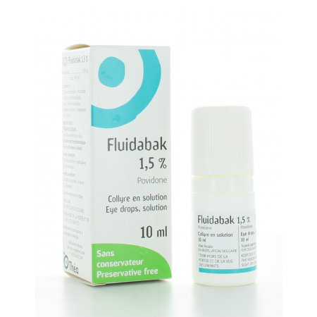 Fluidabak 1,5% Collyre 10 ml