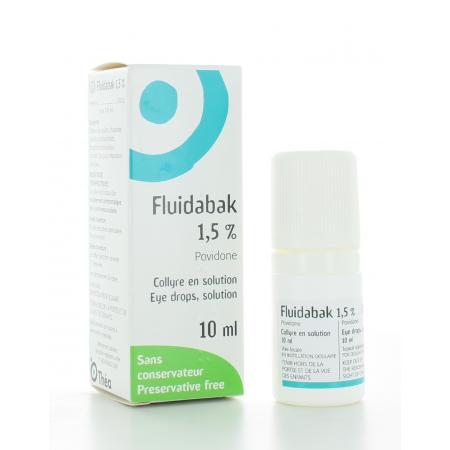 Fluidabak 1,5% Collyre 10 ml