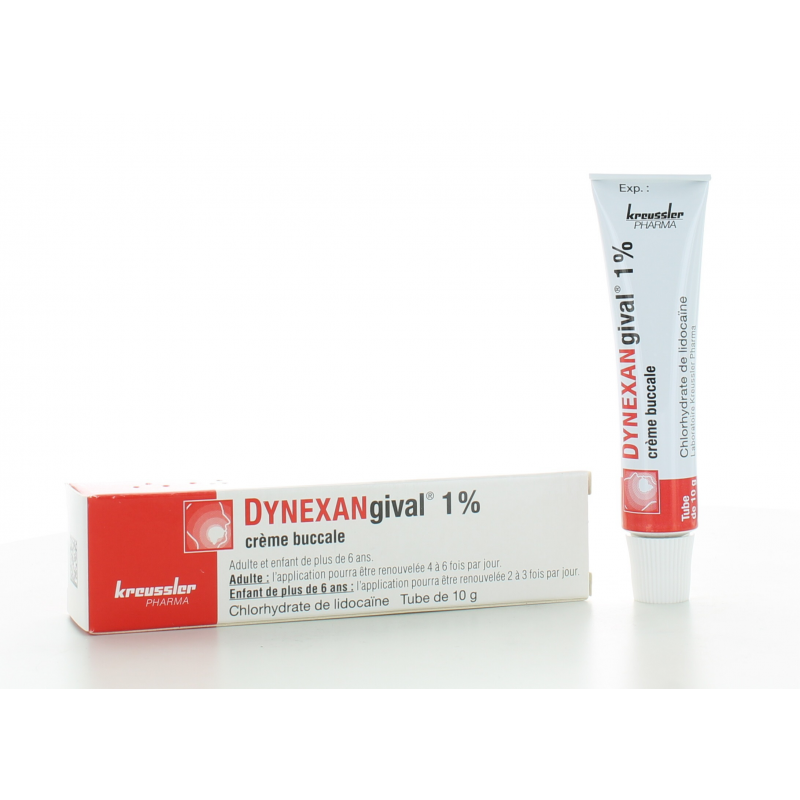 Dynexangival 1% Crème Buccale 10g