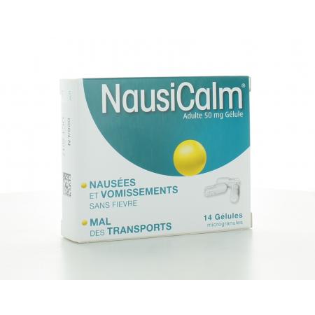 NausiCalm 50 mg 14 gélules