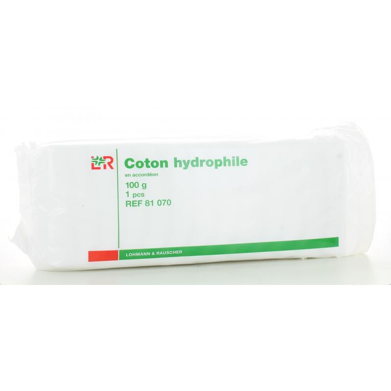 Coton Hydrophile Lohmann&Rauscher 100 g