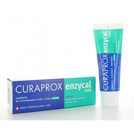 Dentifrice Enzycal 1450 Curaprox 75 ml