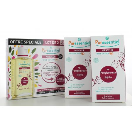 Huile de Soin Bio Minceur Puressentiel 2X100 ml