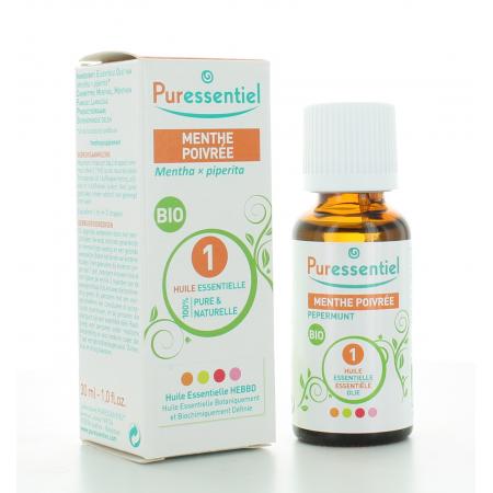 Huile Essentielle de Menthe Poivrée Bio Puressentiel 30 ml