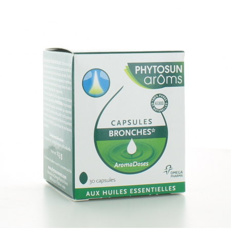 Capsules Bronches AromaDoses Phytosun Aroms X30