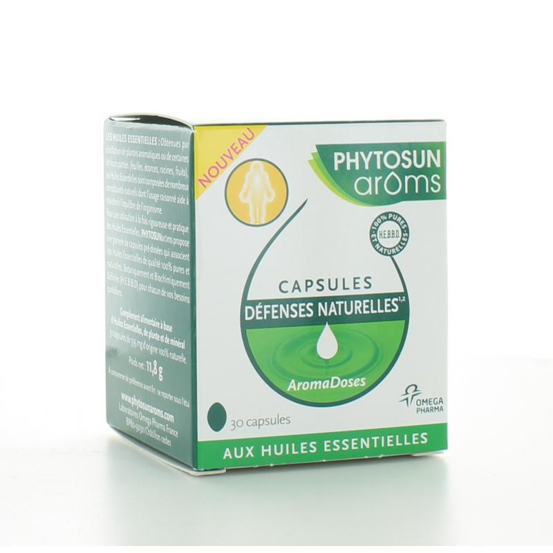 Capsules Défenses Naturelles AromaDoses Phytosun Aroms X30