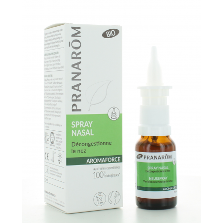 Spray Nasal Bio Aromaforce Pranarôm 15 ml