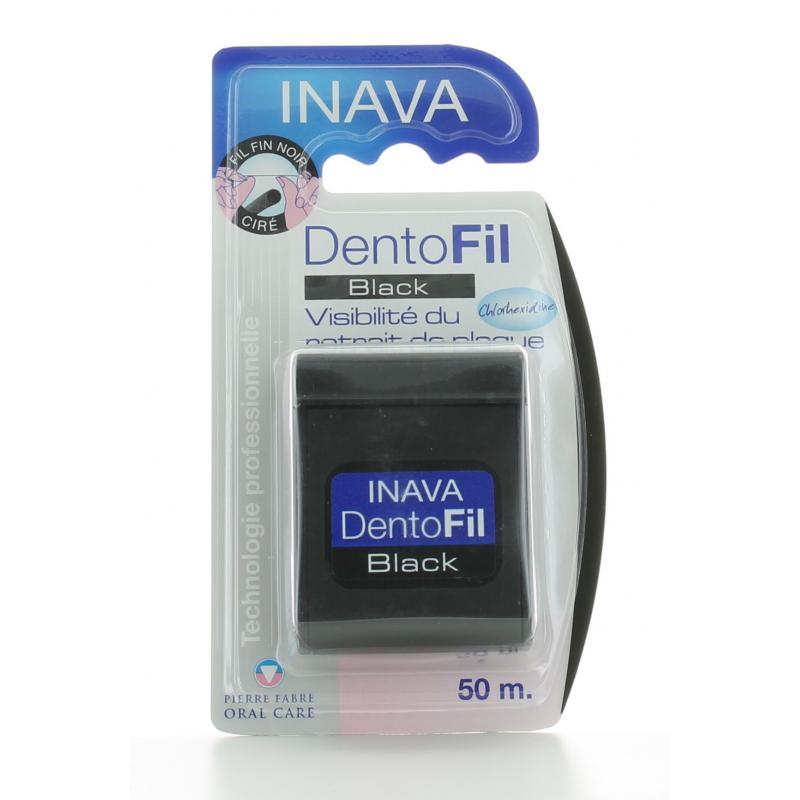 Fil Dentaire DentoFil Black Inava 50m