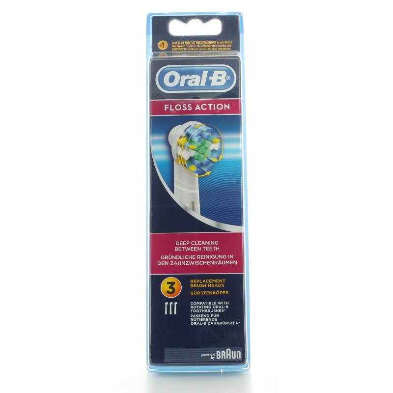 Brossettes Floss Action Oral-B X3