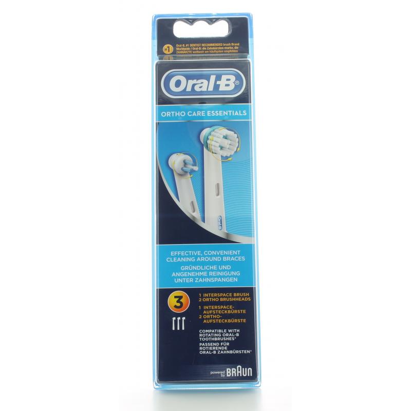Brossettes Ortho Care Essentials Oral-B