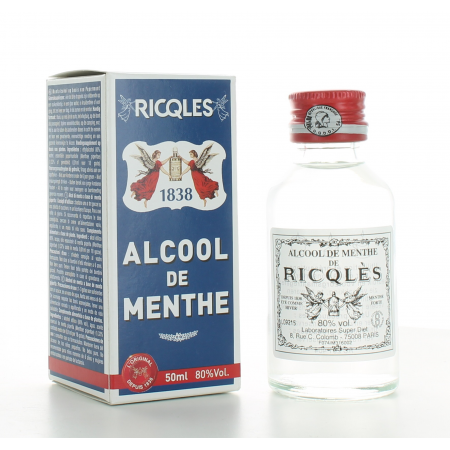 Alcool de Menthe de Ricqlès 50 ml