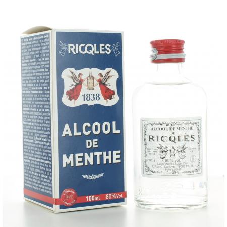 Alcool de Menthe de Ricqlès 100 ml