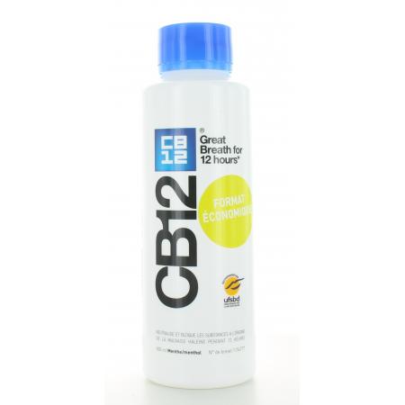 CB12 Menthe Format Economique 500 ml