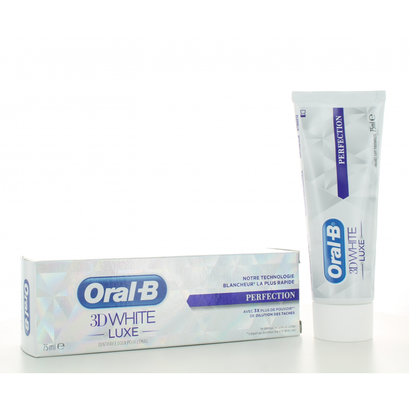 Dentifrice 3D White Luxe Perfection Oral-B 75 ml