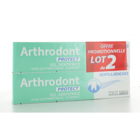 Dentifrice Arthrodont Protect 2X75 ml