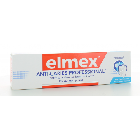 Dentifrice Elmex Anti-Caries Professional 75 ml