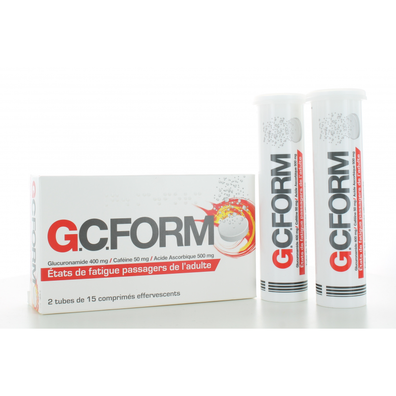 G.C.Form 30 comprimés effervescents
