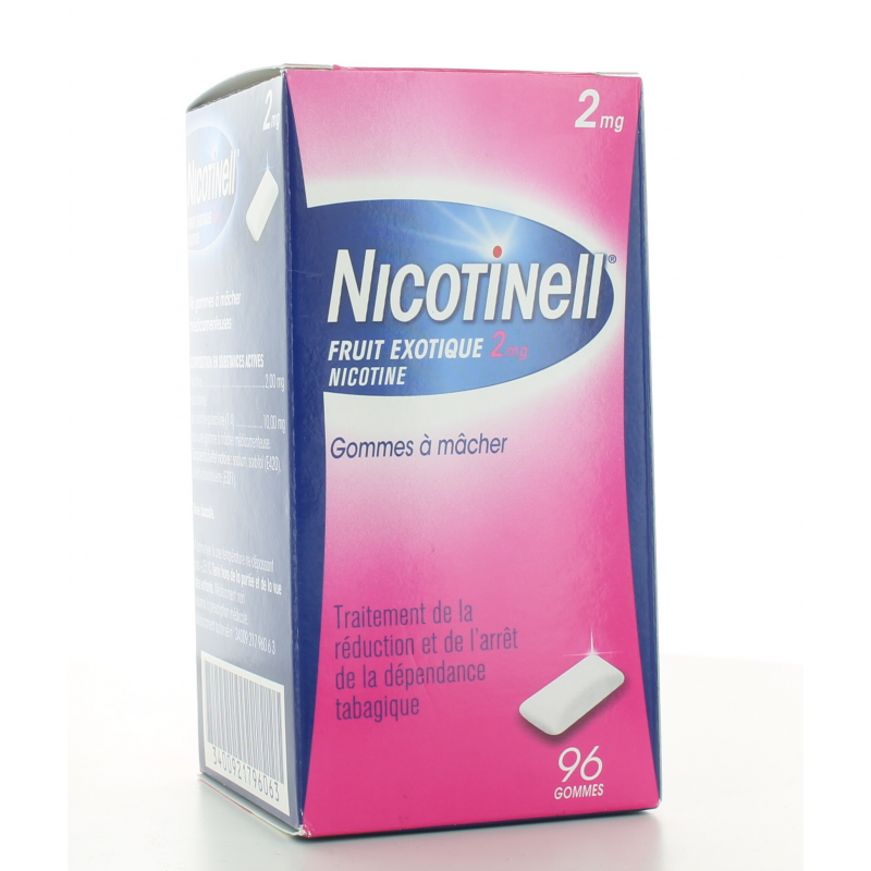 Nicotinell 2 mg Fruit Exotique 96 gommes