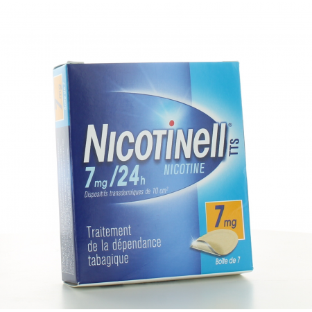 Nicotinell 7mg/24h 7 patchs transdermiques