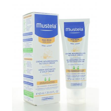 Mustela Crème Nourrissante Cold Cream Visage 40 ml