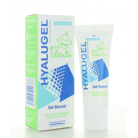 Gel Buccal Hyalugel 1ères Dents 20 ml