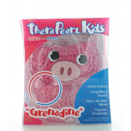 Compresse Chaud-Froid TheraPearl Kids Grenadine