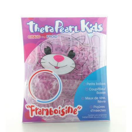 Compresse Chaud-Froid TheraPearl Kids Framboisine