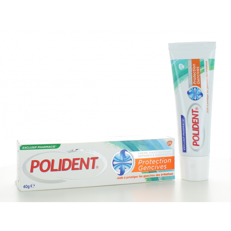 Polident Protection Gencives Crème Fixative 40 g