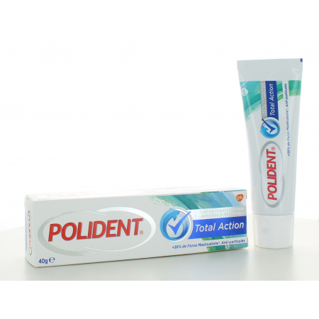 Polident Total Action Crème Fixative 40 g
