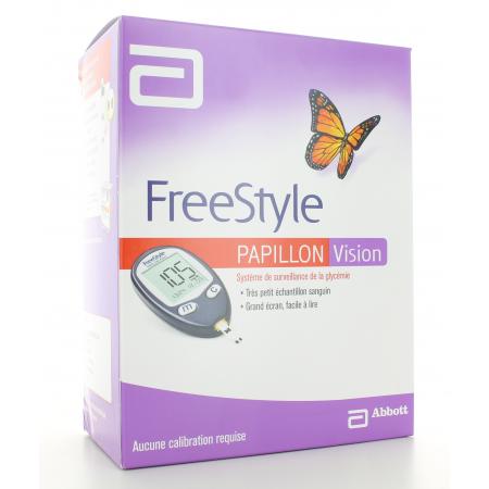 Lecteur de Glycémie Papillon Vision FreeStyle