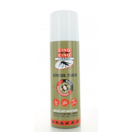 Aérosol Anti-moustiques Tissus Cinq sur Cinq 150 ml