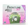 Frontline Tri-Act Chiens 2-5 kg 3 X 0,5ml